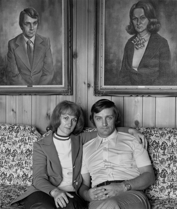 Gabor Szilasi, <i>Mr. and Mrs. Adrien Ouellette, (Louise Labbé), Saint-Joseph de Beauce</i>, 1973. Gift of Gabor Szilasi, MP-1976.16.21 © McCord Museum