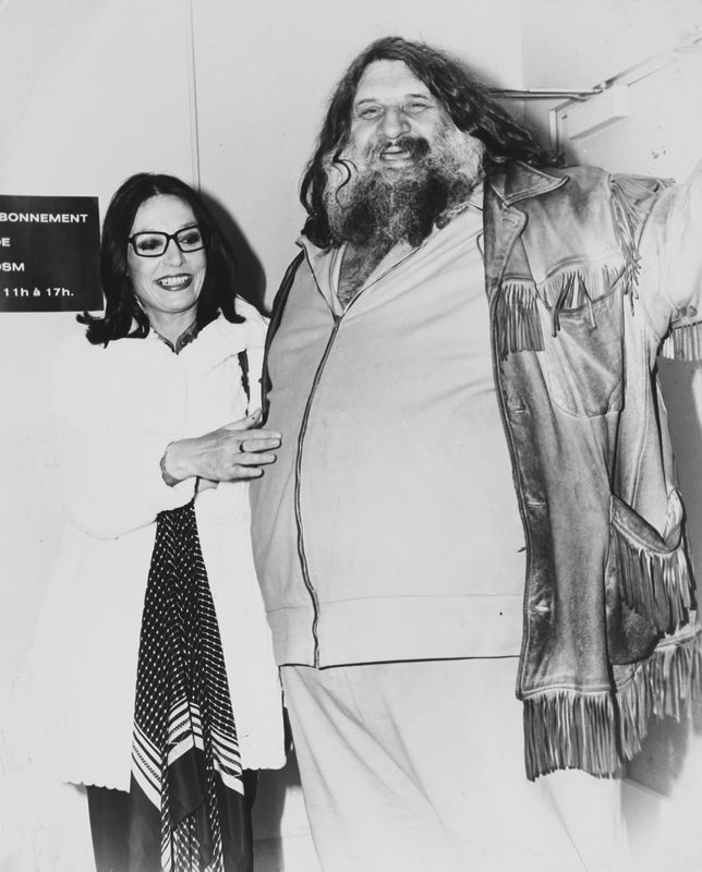 <i>The Great Antonio and Nana Mouskouri</i>, Montreal, about 1985. Gift of Élise Gravel, M2017.37.2.220 © McCord Museum