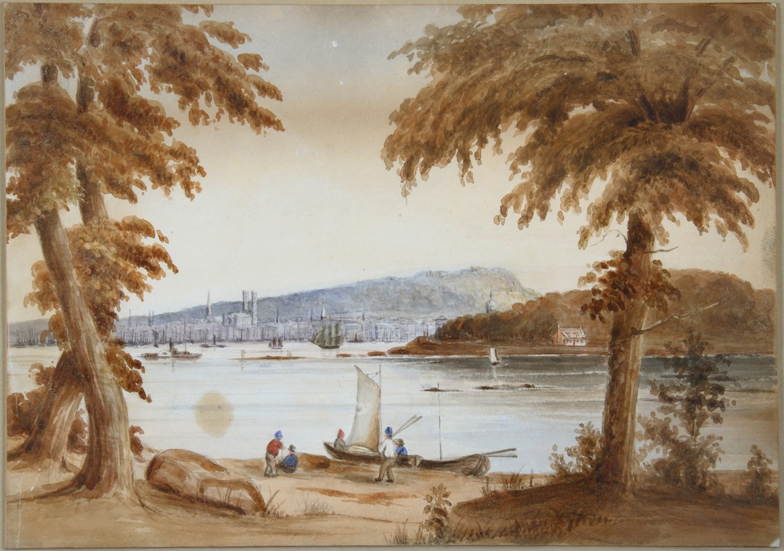 James Duncan, </i>View of Montreal</i>, about 1852-1856. Collection of May and Jack Cole donated by Barry Cole and Sylvie Plouffe, M2007.125.4 © McCord Museum