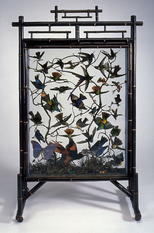 Firescreen, about 1870. Gift of Ms. George H. Montgomery, M998.13.1 © McCord Museum